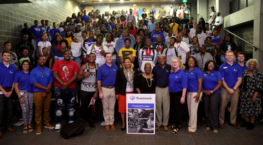 Tougaloo College welcomed Trustmark to campus on Friday to launch the Trustmark Financial Scholars Program.