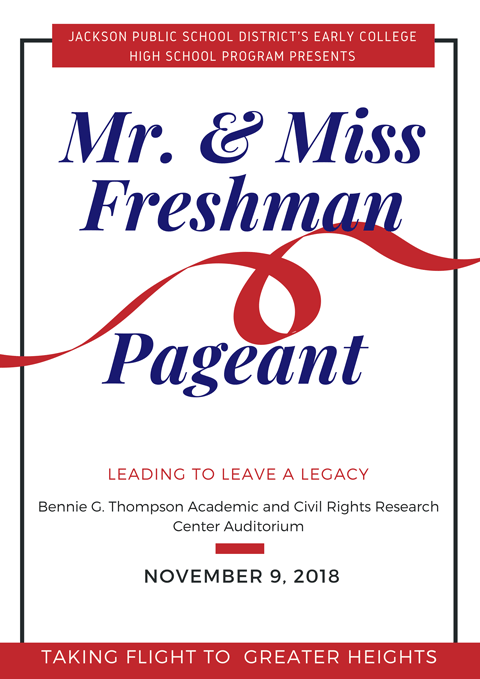Mr & Ms Pageant Souvenir Program