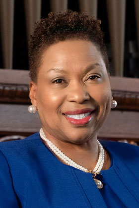 Dr. Carmen J. Walters, 14th President of Tougaloo College