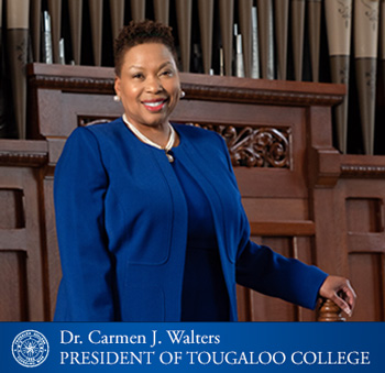 Tougaloo College President, Dr. Carmen J. Walters