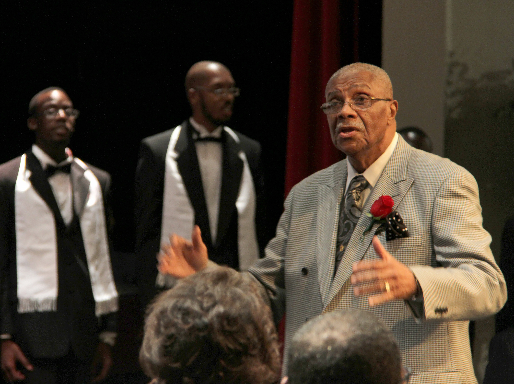 Dr. Bobby G. Cooper, director of the Jubilee Singers at Hinds Community College's Utica Campus. Photo courtesy Hinds Community College