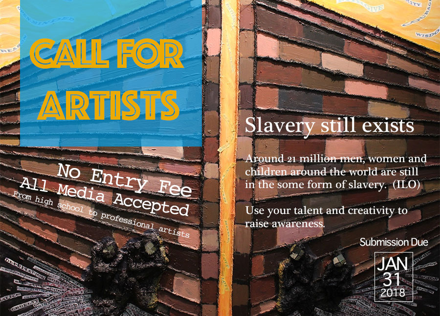 Call For Artists: Modern Day Slavery Project