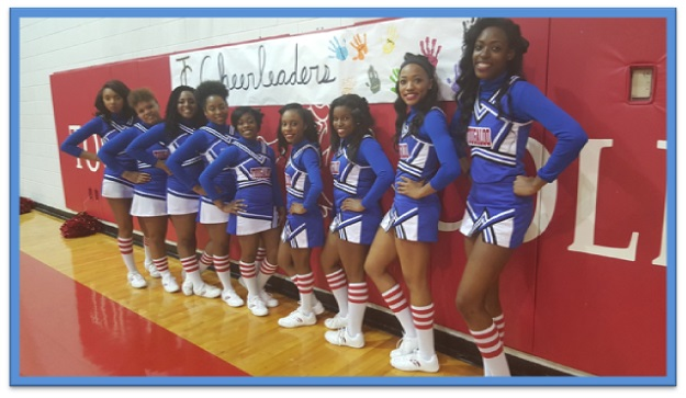 Tougaloo College's Cheer Squad