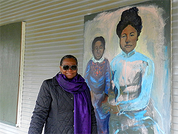 Tougaloo College Art Professor Johnnie Mae Maberry