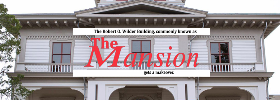The Mansion Gets a Makover