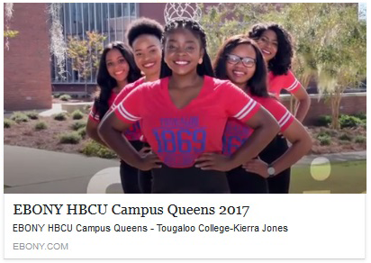 Kiera Jones, Tougaloo College Campus Queen