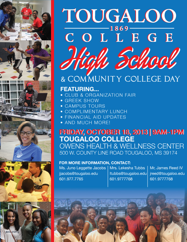 Tougaloo College Presents: High School & Community College Day