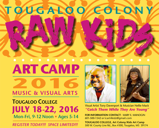 Raw Kids Art Camp 2016