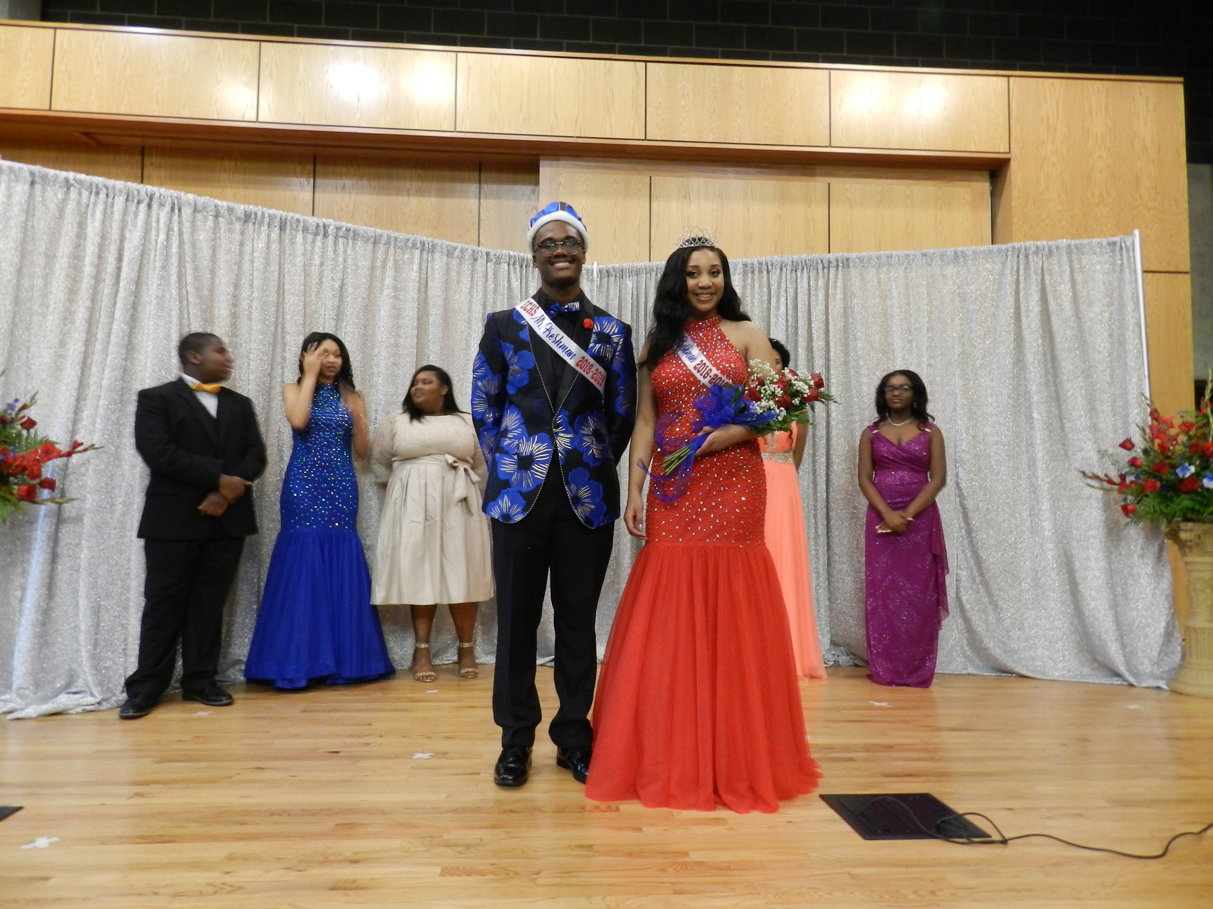 Meet the first ever Tougaloo College Early College High School Program's Mr. and Miss Freshman 2018-2019, Carlin Nichols and Markita Shell! The two were selected based on talent, formal wear and responses to social awareness questions.